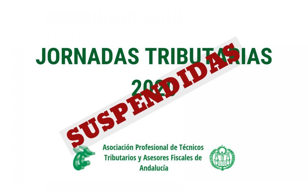 SUSPENSIÓN JORNADAS TRIBUTARIAS 2020